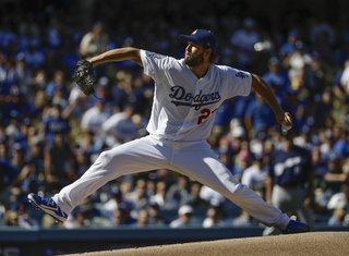 Kershaw dominant, Dodgers beat Brewers 5-2