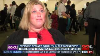 'HIRE' helps people with disabilities get jobs