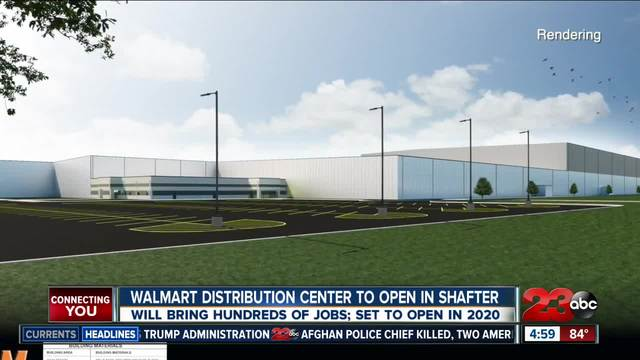 Walmart distribution center to open in Shafter- bringing hundreds of jobs