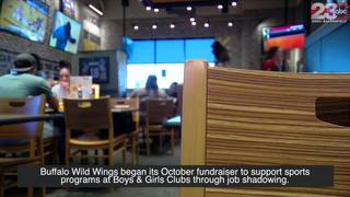 Buffalo Wild Wings supports Boys & Girls Clubs