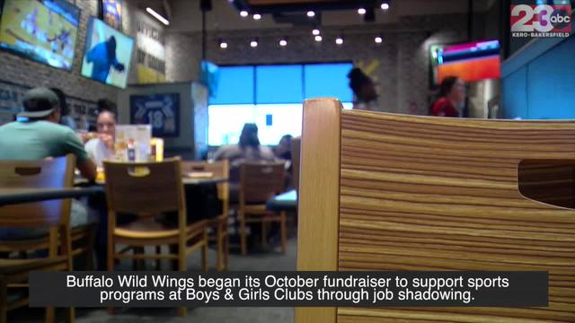 Buffalo Wild Wings begins its October fundraiser to support Boys -amp-…