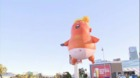 'Baby Trump' ballon makes its way to Los Angeles