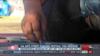 Local artists paint The Marketplace at Via Arte