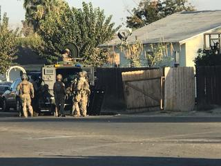 SWAT presence in Taft