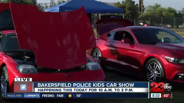 Bakersfield Police host Kids Festival