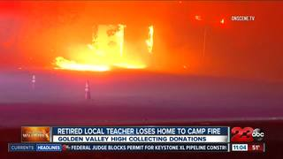 Retired local teacher loses home to Camp Fire