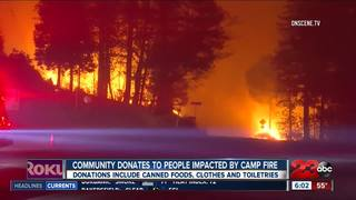 Community helps people impacted by Camp Fire