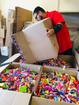 Crown Dental collects 450lbs of candy for troops