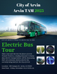 City of Arvin unveils new electric bus
