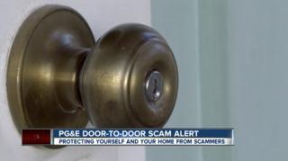 PG&E scam affecting a local neighborhood