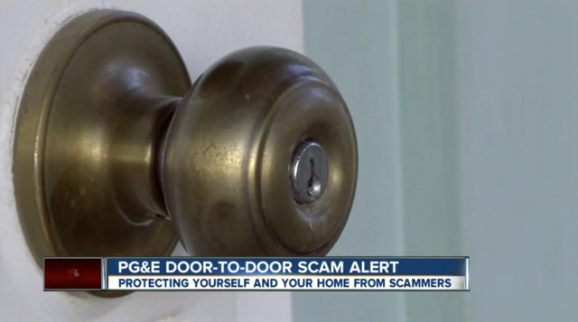 PG-amp-E scam affecting a local neighborhood in Bakersfield