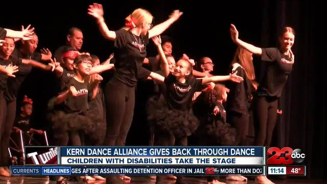 Kern Dance Alliance gives back through dance