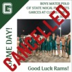 Regional water polo championships cancelled