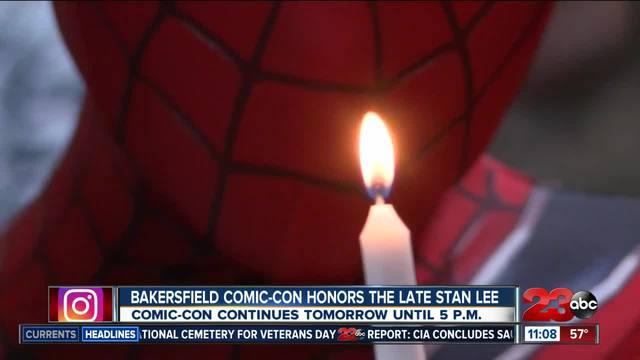 Bakersfield Comic-Con honors the late Stan Lee
