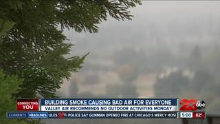 Valley Air: Bad air quality means stay indoors