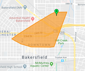 Large power outage in Downtown Bakersfield